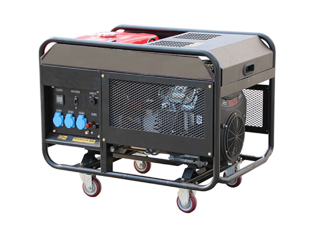 Mobile Gasoline Portable Inverter Generator 8.5kw 10kw Quiet Silence For Home
