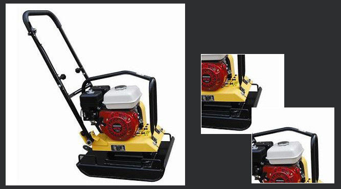 TW100 Light Construction Machinery , Petrol Vibratory Plate Compactor