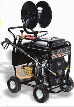Portable Commercial Pressure Washers 5000 PSI 350BAR 24HP SAE30 Pump Oil Type