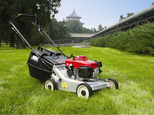 Grass Trimmer Garden Cutting Machine , 6.5HP 173CC Self Propelled Gas Lawn Mower