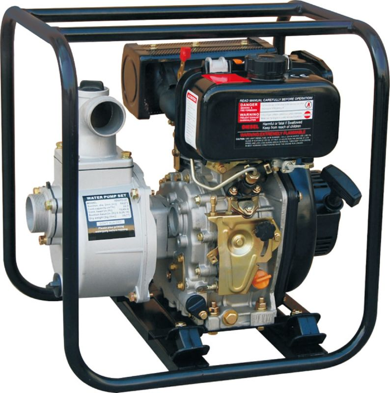 2'' Portable Diesel Operated Water Pump TW170 WP20D 5.5HP CE Certified